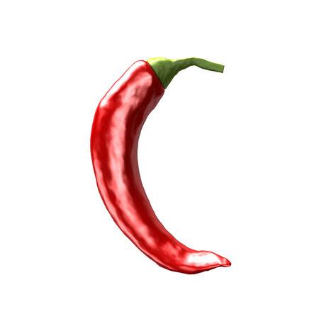 chili abc - C photo