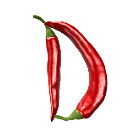 chili abc - D photo