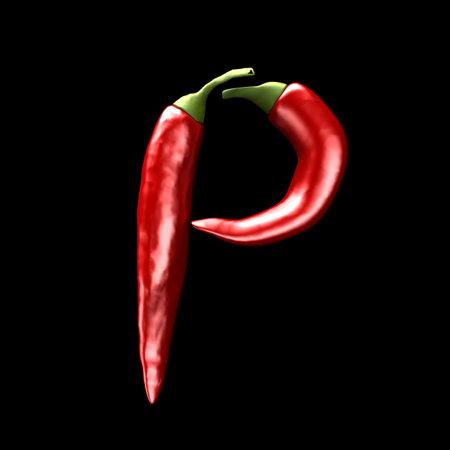 chili abc - P photo