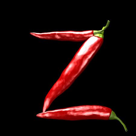 chili abc - Z  photo