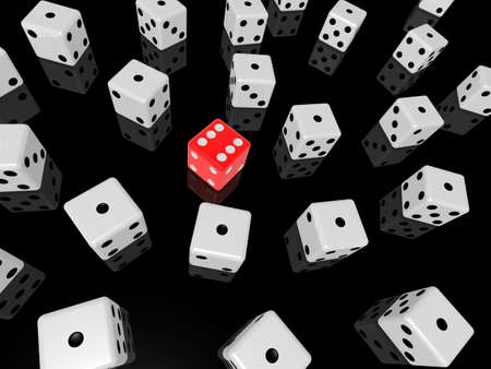 games of chance: red dice
