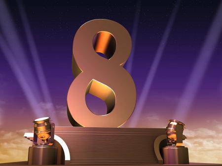 number eight: golden eight