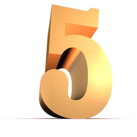massive: golden number - 5