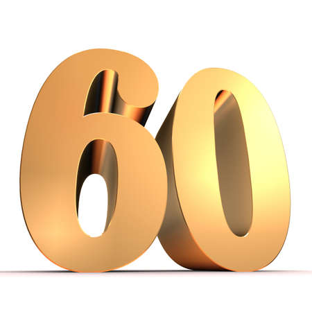 sixty: golden number - 60