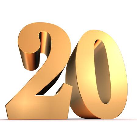 20: golden number - 20