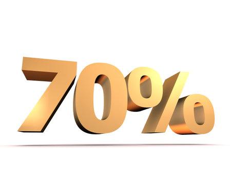 摘要: 黃金70%
