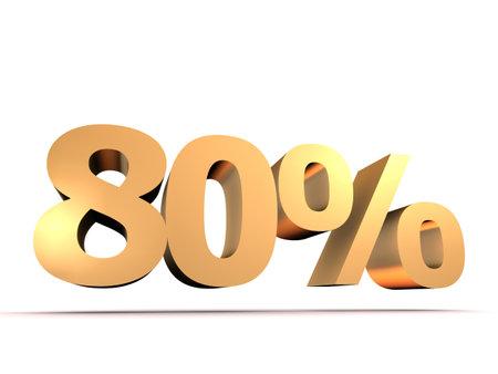 eighty: golden 80 percent