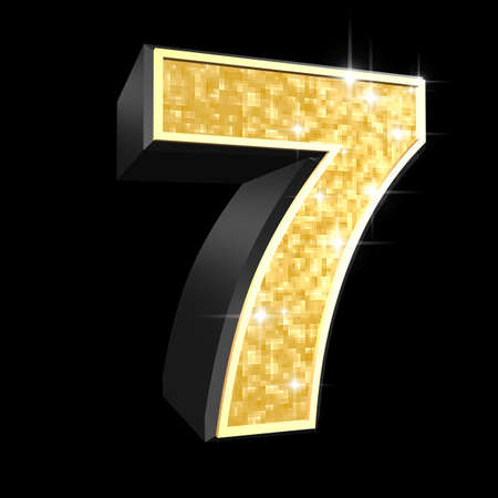 number 7: golden numbers - 7