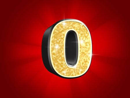 golden number - 0 photo