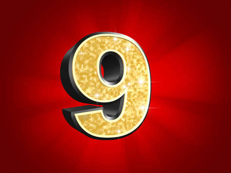 massive: golden number - 9