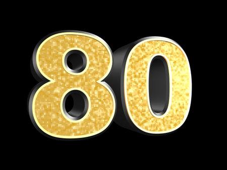 80: golden number 80