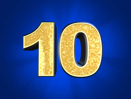 number 10: golden number 10