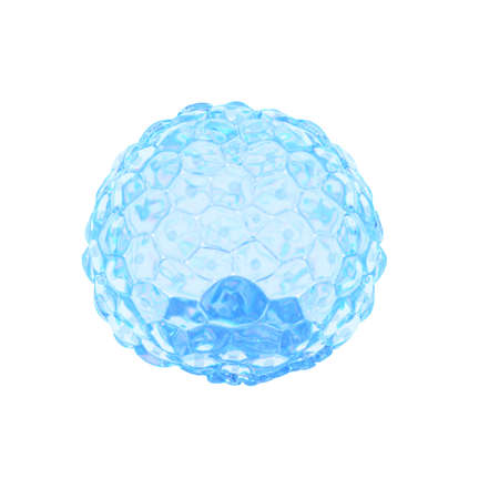 3d rendered medically accurate illustration of a blastocyst Stock Illustration - 109046396