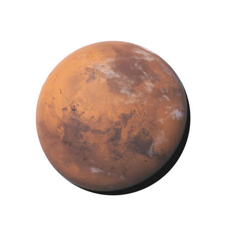 3d rendered illustration of mars