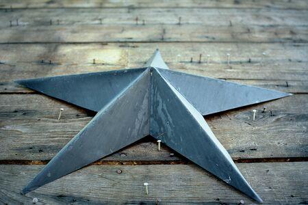 star: Retro Star Stock Photo