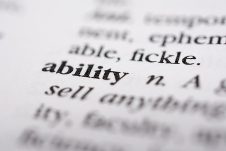 adroitness: Ability