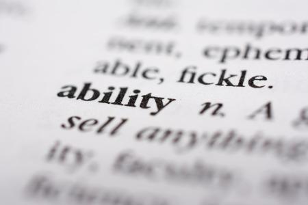 proficient: Ability