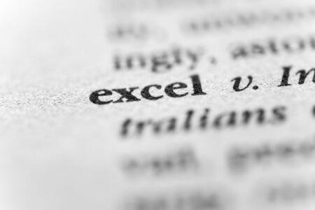 excel: Excel Stock Photo