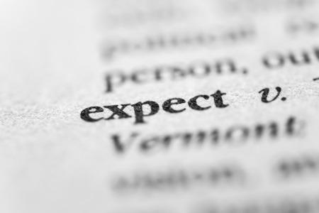 reckon: Expect