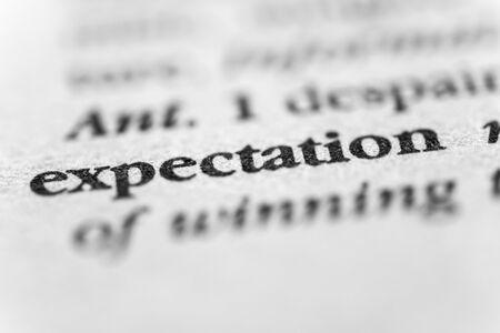 expectation: Expectation
