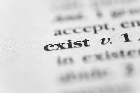 subsist: Exist