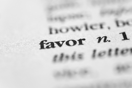 favor: Favor