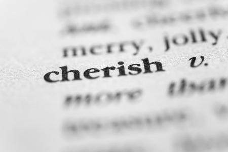 cherish: Cherish
