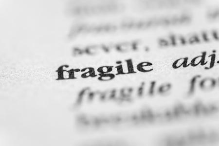 frail: Fragile Stock Photo