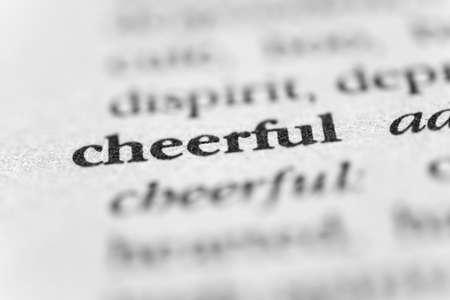 lighthearted: Cheerful