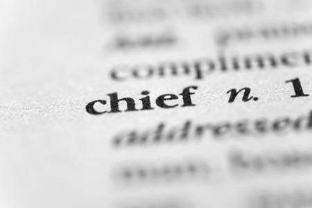 headman: Chief