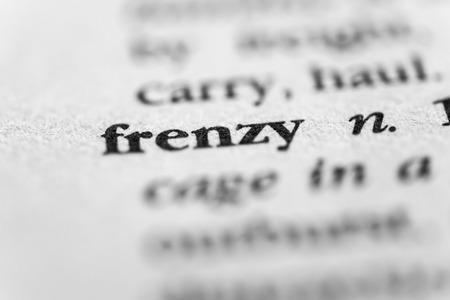 furor: Frenzy Stock Photo