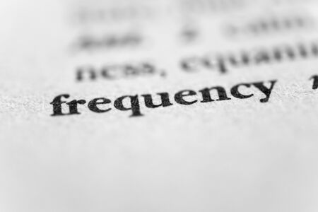 prevalence: Frequency Stock Photo