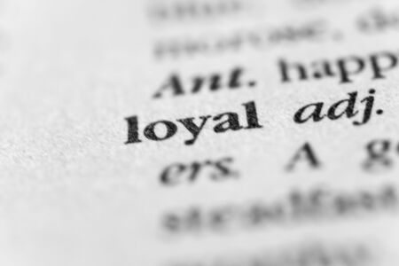 steadfast: Loyal