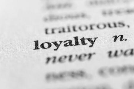 constancy: Loyalty Stock Photo