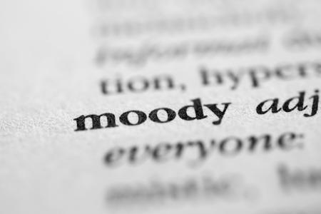 morose: Moody