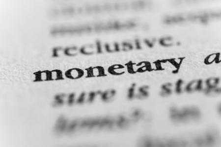 pecuniary: Monetary