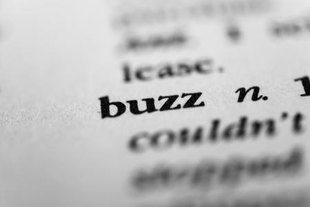 exhilaration: Buzz Stock Photo