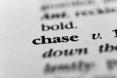 chasing tail: Chase Stock Photo