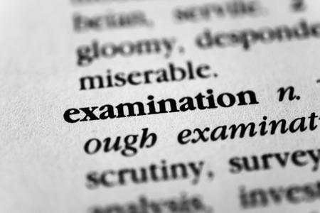 Examination Stock fotó