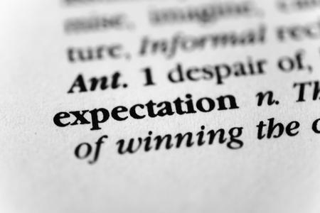 suspenso: Expectativa