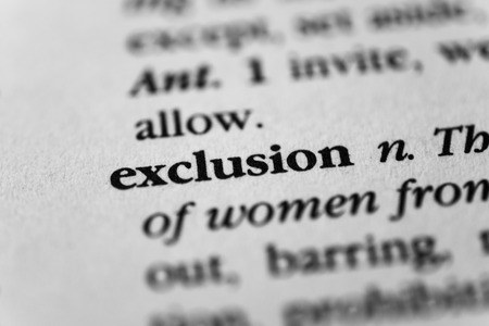 exclusion: Exclusion