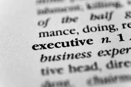 managerial: Executive
