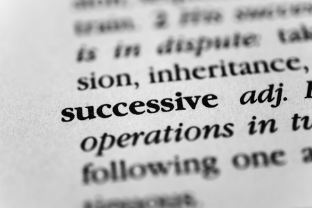 sequential: Successive