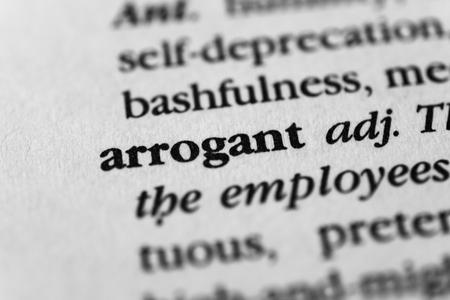 overbearing: Arrogant Stock Photo