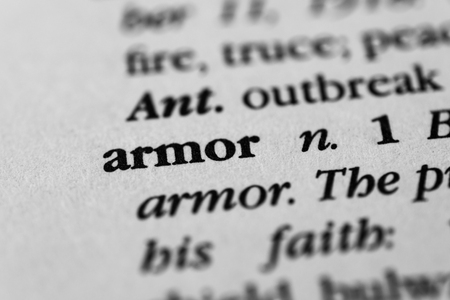 panoply: Armor Stock Photo