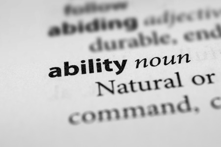 potentiality: Ability