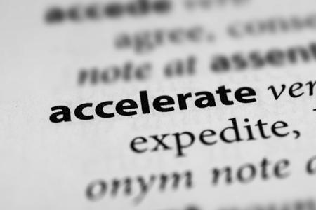 accelerate: Accelerate