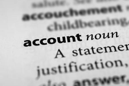 account: Account