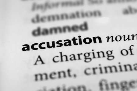 assertion: Accusation