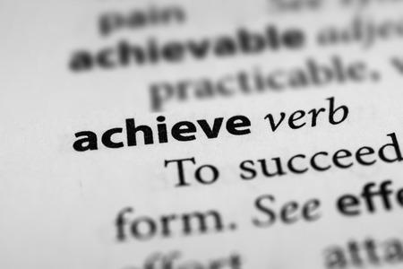 attain: Achieve